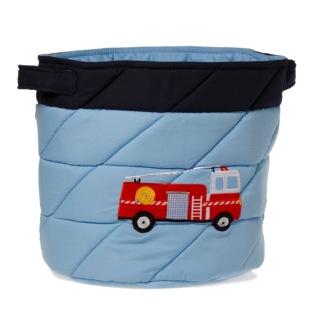 Förvaringskorg - brandbil -