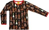 Långärmad tröja, Gingerbread Black, DUNS