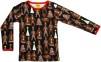 Långärmad tröja, Gingerbread Black, DUNS - 68
