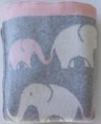 Lilla elefantflickan, 100*80 cm