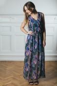 Olivia Maxidress, Blue flower