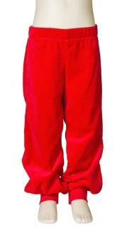 Babybyxa velour röd Jny - 56