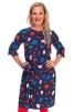 Doris klänning, tebjudning - XL
