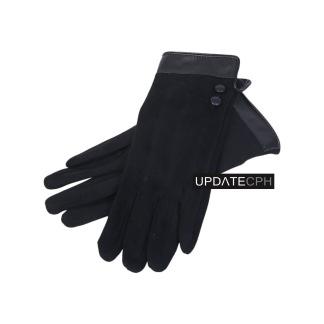 Handskar, svarta - s/m
