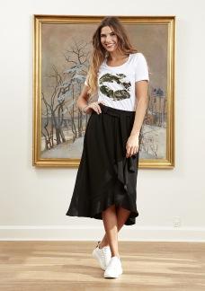 Daline skirt, svart - S