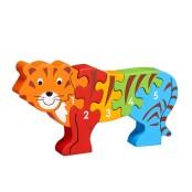 Pusseldjur tiger