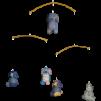 Trämobil Doddi - Blå