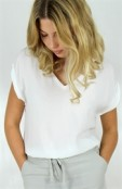 Bess top white