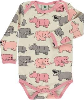 Body, elefanter, rosa - 56