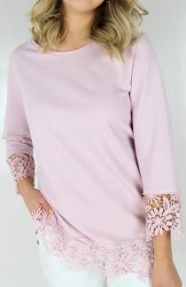 Abbey sweater magnolia - S