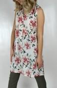 Darlene tunic rose/creme