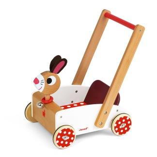 Läragåvagn, kanin -
