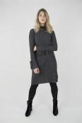 Elena dress black melange