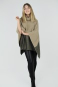 Eleonore poncho camel/mocca