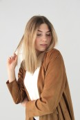 Janis jacket, cognac