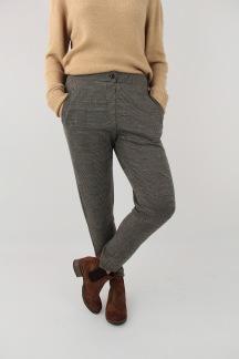 Chelsea pants black/camel - XS