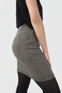 Chelsea skirt black/camel - XS