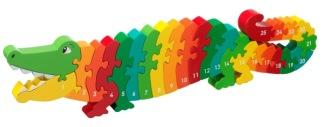 Pusseldjur krokodil 1-25 - 1-25