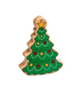 Julfigurer i trä - Julgran
