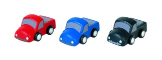 Mini trucks, 3-pack -