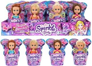 Sparkle cupcakes docka -