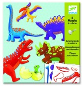 Sprattelgubbar dinosaurier