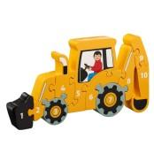 Pussel 1-10 traktor eko & fairtrade (KOPIA) (KOPIA)