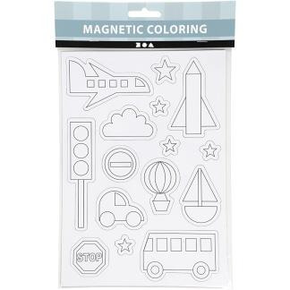 Magneter att måla själv - Fordon