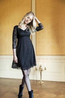 Victoria dress black - XL