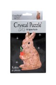 Crystal puzzle 3d kanin