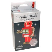 Crystal puzzle 3d, robot
