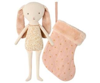 Bunny Angel in stocking powder -