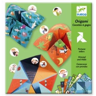 Origami, vika loppor -