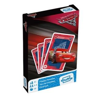 Kortspel 2 i 1, Bilar 3 -