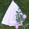 Snuttefilt rosa dotty