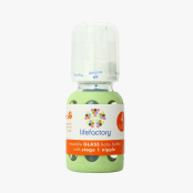 Nappflaska, 120 ml, vårgrön