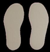 Skosulor av merinoull ullfleece