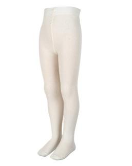 Strumpbyxa merinoull, vit - 68