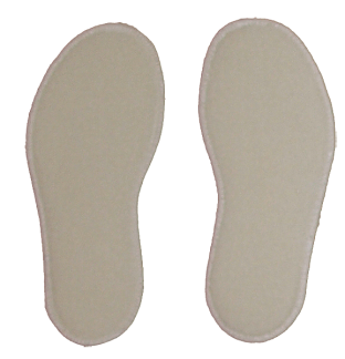 Skosulor av merinoull ullfleece - 24