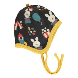 Hat helmet velour - Fun park - 4-9 mån