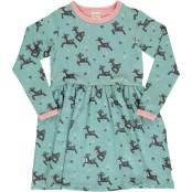 Dress spin l/s dashing reindeer