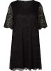 Spetsklänning, svart