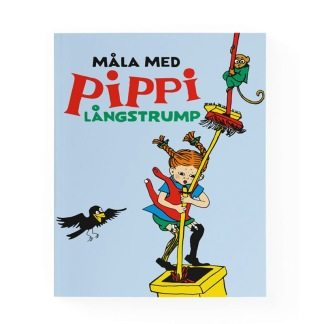 Pippi målarbok -