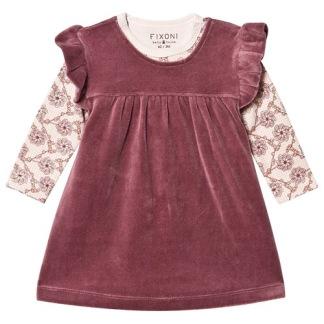 Joy klänning, Crushed Berry - 68