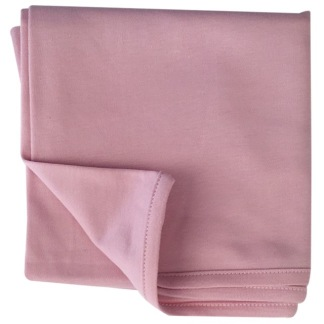 Infinity Solid Blanket - Oekotex, pale mauve -