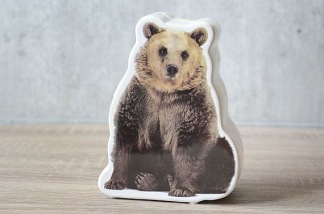 Sparbössa porslin björn -