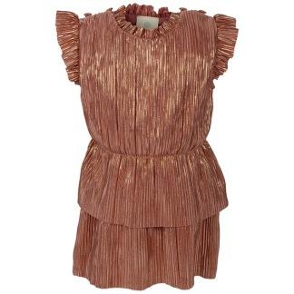 En Fant klänning, guldfärgad - 92