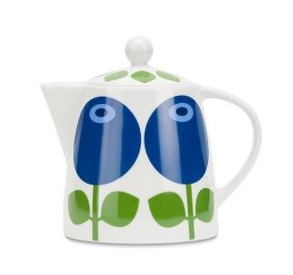 Tekanna Blåbär 1,1 L (kaffekanna/kanna blåbär) -