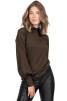 Adrienne Top Coffeebrown - XL