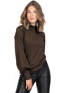 Adrienne Top Coffeebrown - S